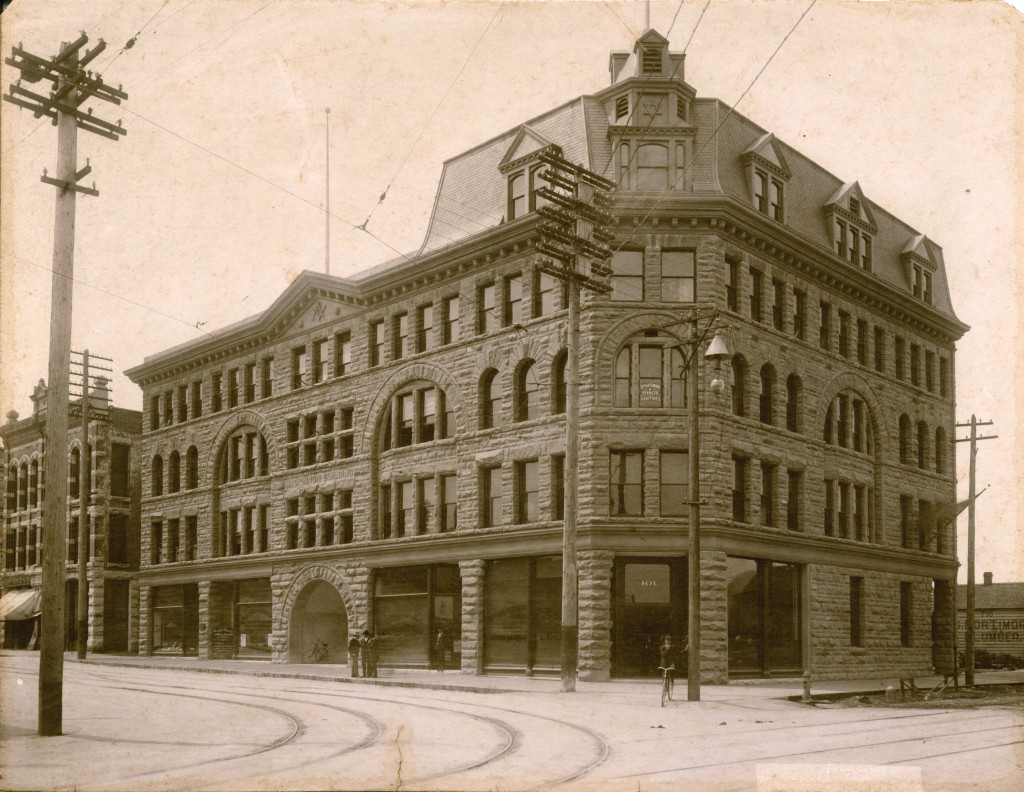 MacKinnon Building, Vancouver c. 1900 (Photo Credit: Vancouver Archives)